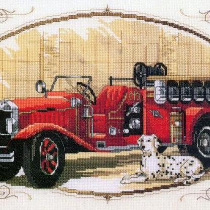 CRAFTS Classic Fire Engine Cross St..
