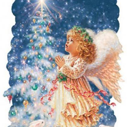 CRAFTS Christmas Angel Cross Stitch..