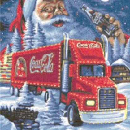 CRAFTS Cola & Santa Christmas Truck..