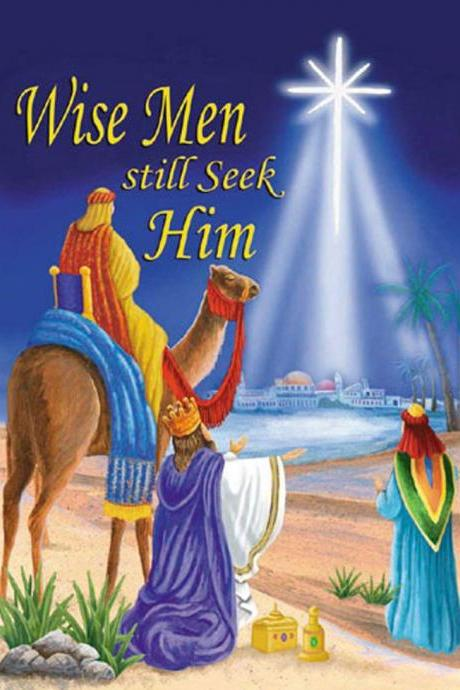 Unique Hand Made pdf Sewing Home Dmc Hand Made Crafts Wise Men Still Seek Him Cross Stitch Pattern***LOOK***