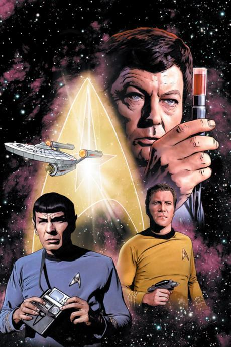 CRAFTS Star Trek Bones Spock Kirk Cross Stitch Pattern***LOOK***