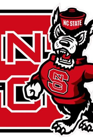 Unique Hand Made pdf Sewing Home Dmc Hand Made Crafts NC State Wolf-Pack # 2 Cross Stitch Pattern***LOOK***