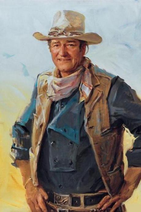 CRAFTS John Wayne Portrait Cross Stitch Pattern***LOOK*** Buyers Can Download Your Pattern As Soon As They Complete The Purchase