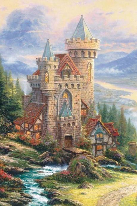CRAFTS Guardian Castle Cross Stitch Pattern***LOOK*** Buyers Can Download Your Pattern As Soon As They Complete The Purchase