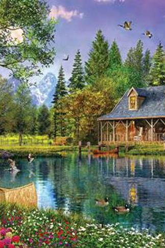 CRAFTS Crystal Lake Cottage Cross Stitch Pattern***LOOK***Buyers Can Download Your Pattern As Soon As They Complete The Purchase