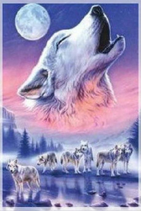 CRAFTS Spirit of the Wolves Cross Stitch Pattern***LOOK***Buyers Can Download Your Pattern As Soon As They Complete The Purchase