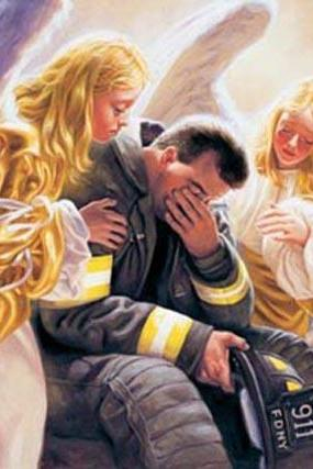 CRAFTS Fire Fighter's Angels Cry Cross Stitch Pattern***LOOK***Buyers Can Download Your Pattern As Soon As They Complete The Purchase